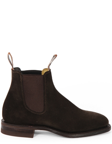R.M. Williams Macquarie Suede Choco